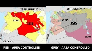 getlinkyoutube.com-NEW 2015 END TIMES HEADLINES | LATEST ISIS SYRIA TERRITORY MAP 2014 - 2015 | ISIS ADVANCE TO ISRAEL