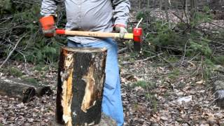 getlinkyoutube.com-Wood Splitting Tips