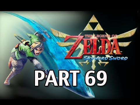 Legend of Zelda Skyward Sword - Walkthrough Part 69 Best Hylian Shield Thunder Dragon Trial