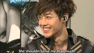 getlinkyoutube.com-[Star Date] 'Lucky Guy' Kim Hyun-joong's concert in Japan (김현중)