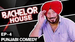 getlinkyoutube.com-Jaswinder Bhalla New Comedy - Bachelor House - Punjabi Comedy Movies 2016 Full Movie - Part 4