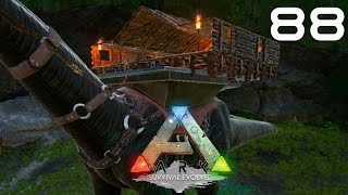 ARK Survival Evolved [#88] Platforma/Baza na Bronto