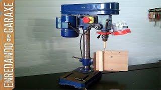 getlinkyoutube.com-Cómo hacer una mesa vertical para el taladro de columna