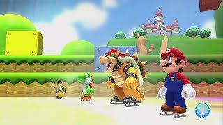 getlinkyoutube.com-Mario and Sonic at the Sochi 2014 Olympic Winter Games - Mario Stage Medley (Wii U)