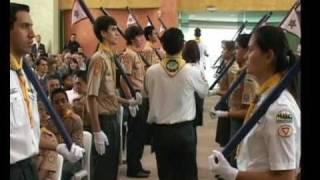 getlinkyoutube.com-Guarda de Honra no Dia Mundial dos Desbravadores