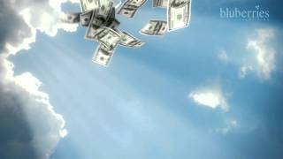 Money falling from the Sky - Cinama 4D Animation