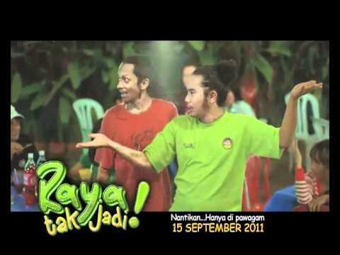 Raya Tak Jadi 15 Sept  2011 (Johan Raja Lawak & Saiful Apek)