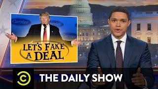 getlinkyoutube.com-Trump Fakes a Deal: The Daily Show