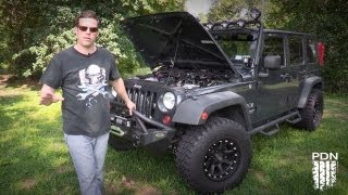 Jeep Wrangler with a RIPP Supercharger