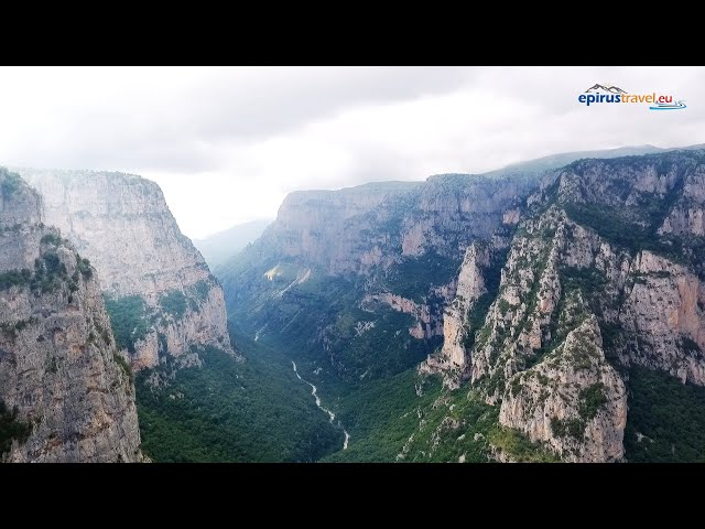 Monodentri, Vikos gorge drone flight