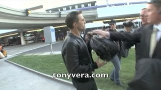 getlinkyoutube.com-Halle Berry husband  Olivier Martinez going off on a Paparazzi