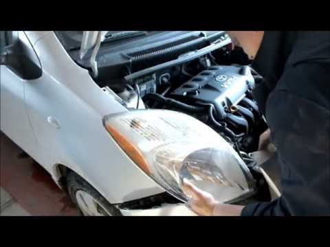 Change a Headlight, Turn Signal or Parking Light on The Toyota Yaris