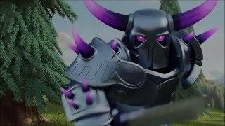 getlinkyoutube.com-Creepypasta Clash of Clans: ¿Que es el Pekka?