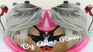 getlinkyoutube.com-COMO MATIZAR E PLATINAR AS MECHAS COM A 0.1 ACQUAFLORA por Aline Rosa