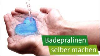 getlinkyoutube.com-DIY - Geschenke selber machen: Badepralinen in Herzform