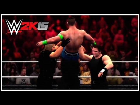 WWE 2K15 - The Shield Triple Powerbomb! (WWE 2K15 NEW OMG Moment!)
