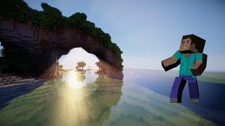 getlinkyoutube.com-MAKE MINECRAFT LOOK REAL!!! - Texture pack for shaders mod reviews