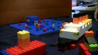 My Lego Titanic Video