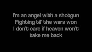 getlinkyoutube.com-Angel With A Shotgun by The Cab [Lyrics]