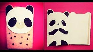 getlinkyoutube.com-libreta de panda facil ♥ MIKU, papelitos123