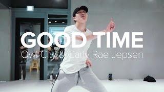 getlinkyoutube.com-Good Time - Owl City (With Carly Rae Jepsen) / Jihoon kim choreography