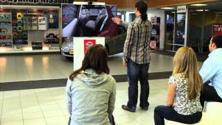 Nissan Pathfinder Kinect Experience