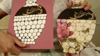 getlinkyoutube.com-Deco Artesanal -Mosaico e  Decoupage  Mauro Tavares