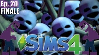 Minireena MULTIPLIES & Purple Guys Origin - The Sims 4: FNAF Sister Location - Ep 20 FINALE
