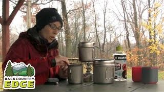 getlinkyoutube.com-Snow Peak Trek 700, 900 and 1400 Titanium Cook Pots
