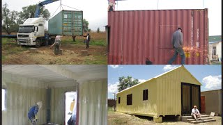 getlinkyoutube.com-How to build your own 3 bedroom container house