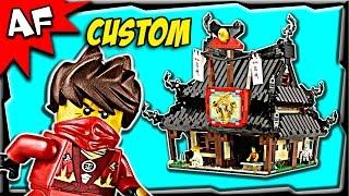 getlinkyoutube.com-Custom Lego Ninjago BLACKSMITH SHOP Stop Motion Build Review 2508
