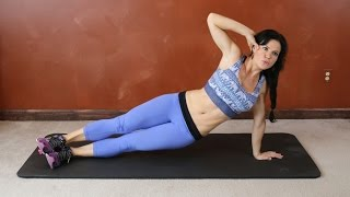 15 Minute Total Body Home Workout with Cardio Fat Burn