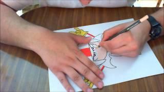 speed drawing de kick Buttowski  YouTube