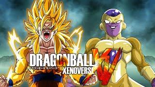 getlinkyoutube.com-Golden Goku VS Golden Frieza | Dragon Ball Xenoverse MODS (Duels)