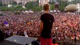 getlinkyoutube.com-Justin Bieber - Boyfriend Live At MTV World Stage In Malaysia 2012