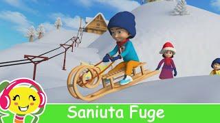 getlinkyoutube.com-Saniuta Fuge - Colinde de Craciun pentru copii
