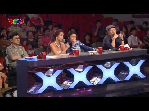 Vietnam's Got Talent 2014 - Nghệ thuật ánh sáng - NÚT VÀNG TẬP 01- Bùi Văn Tự