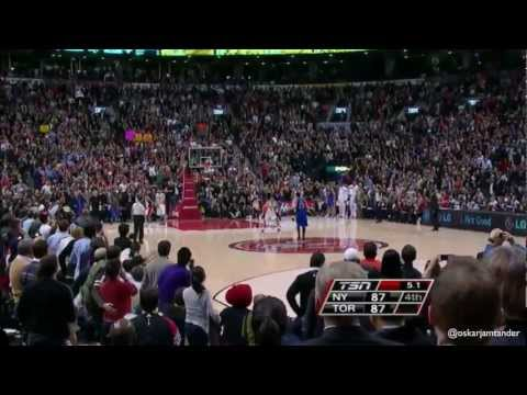 Jeremy Lin Game Winner @ Toronto Raptors 14/2/12