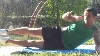 getlinkyoutube.com-Fitness urban- 4 exercitii pentru abdomen