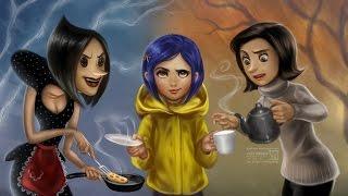 getlinkyoutube.com-Coraline Full Game Movie All Cutscenes Cinematics