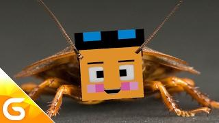 getlinkyoutube.com-바퀴벌레에게 물려 바퀴벌레가 된다고..?! [병맛 스토리 상황극 : 바퀴벌레에 저주] 마인크래프트 Minecraft [진호]