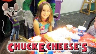 Chuck E. Cheese Birthday Party - Madison Turns 7
