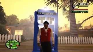 getlinkyoutube.com-GTA San Andreas Doctor Who Mod For PC!