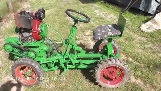 getlinkyoutube.com-Homemade tractor 4x4