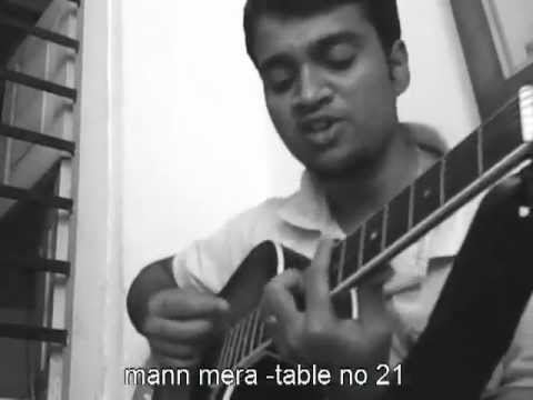 mann mera -table no 21 guitar lesson