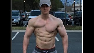 getlinkyoutube.com-The Man With 1 Pec Muscle !