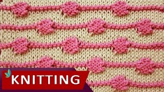 getlinkyoutube.com-TWO COLOR KNITTING - String of Purls