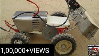 getlinkyoutube.com-Desi Jugaad tractor and Routavator