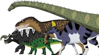 getlinkyoutube.com-Marching Dinosaurs - Animated Size Comparison