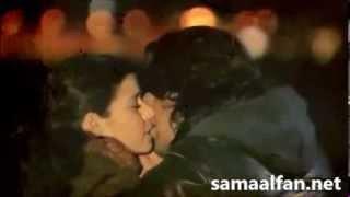 """getlinkyoutube.com-قبلات ساخنة لكريم وفاطمة لم تعرض في مسلسل """"فاطمة"""""""